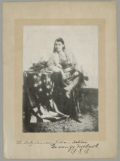 Go-Won-Go (the daughter of Chief Ga-ne-gan) - Iroquois (Mohawk) - no date