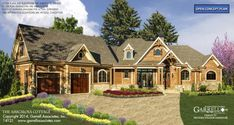 The Amicalola Cottage ☀️ Ranch Style Homes, Cottage Style Homes, New Home Designs, Home Design Plans, Porch Grill, Affordable House Plans, Southern Cottage, Backyard Buildings, Cottage Floor Plans