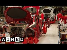 Production of a Tesla S