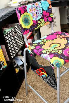 Tutorial: Padded, Upholstered, and Pocketed Ikea STIG Stool Hack Part I - Rae Gun Ramblings