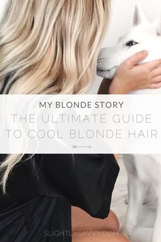 Blonde hair care tips and how to remove brassiness from blonde hair.