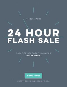 Trespass Email Newsletter - Animated gif - Flash Sale