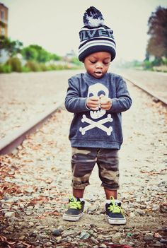 My kid will be this swagged out. At all times
