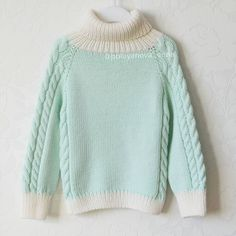 Мятный красавец свитерок из 100% мериносика :) в наличии нет ... Девочки…
