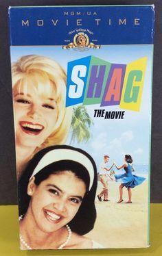 SHAG THE MOVIE - VHS - 1989 - Phoebe Cates - Scott Coffey - Bridget Fonda