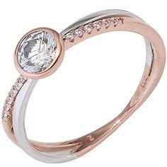 Dreambase Damen-Ring Rotgold mit Weißgold kombiniert 8 Ka... https://www.amazon.de/dp/B01GQWZ00U/?m=A37R2BYHN7XPNV