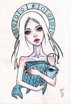 Pisces by BlackFurya