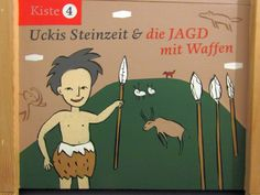 Uckis Steinzeitkiste: Die Jagd Little Boys, Hunting, Crate, Weapons