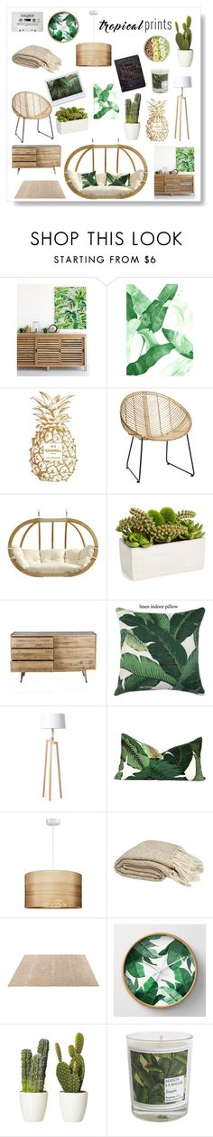 """""""Untitled #380"""" by pn0349 ❤ liked on Polyvore featuring interior, interiors, interior design, home, home decor, interior decorating, Chanel, Amazonas, Sage & Co. and Rove Concepts"""