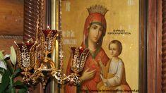 Παναγία Ιεροσολυμίτισσα : Όραμα Γέροντα Φιλόθεου Ζερβάκου: Η Παναγία ὕψωνε τ...