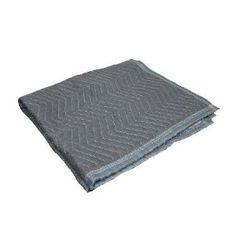 """40"""" x 36"""" Moving Blanket by Grip Tools. $17.23. Multi-purpose moving blanket is ideal to protect objects, walls and truck beds from scratches and damage during moving. Great for covering appliances and objects such as stoves, dishwashers, televisions, tables, chairs, pianos and more. Zig zag stitching and durable quilting provides consistent cushioning.Dimensions: 40"""" x 36"""".. Save 33%!"""