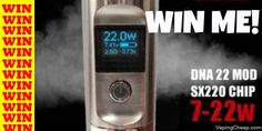 Win a Seven 22 Watt E-Cigarette Mod! Enter at: http://vapingcheap.com/win-seven-22-watt-22650-e-cigarette-mod/