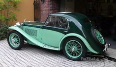 1936 MG PB Airline Coupe