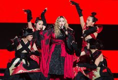 Madonna honored David Bowie in a big way on her Rebel Heart tour.