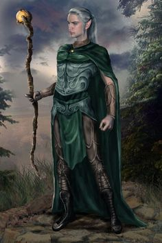 male elf | SILVANESTI ELVES