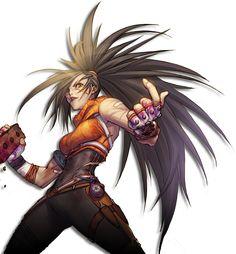 Female Fighter - Brawler Portrait