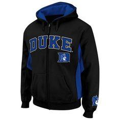 Duke Blue Devils Turf Fleece Full Zip Hoodie - Black Lebro James, Duke Bball, Duke Shirts, Duke Blue Devils, Coops, Fan Gear, Full Zip Hoodie, Hoodies, Sweatshirts