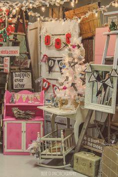 Puyallup, Washington Washington State Fairgrounds Booth Display, Vintage, Vendors. Junk Salvation Allie D Photography