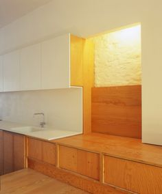 plywood + white