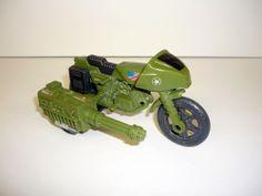 1982 RAM MOTORCYCLE - G.I. Joe Action Figure Vehicle - COMPLETE!!!