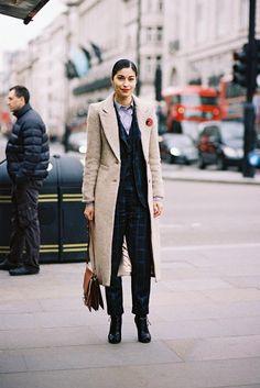 Vanessa Jackman: London Fashion Week AW 2015....Caroline