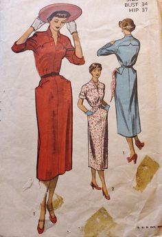 Vintage Sewing Pattern 1940s Fab Western by BluetreeSewingStudio, $36.00