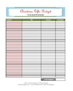 FREE Printable Budget Worksheets – Download or Print | HOME ...