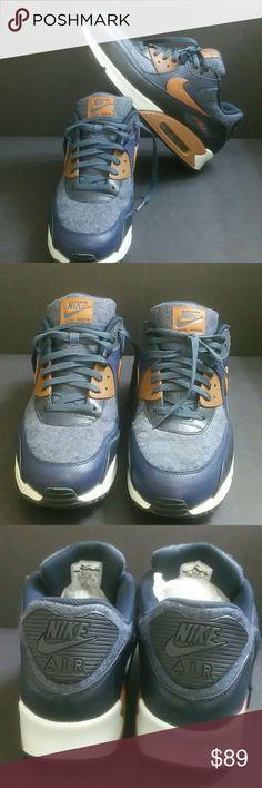 brand new d8cc0 6520c Nike air max 90 premium wool men s shoes