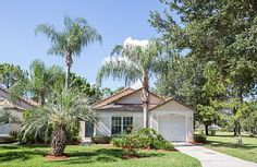 Luxury, 4 Star, 3 Bedroom, 2 Bath Villa - South Facing Pool and Golf Front View - Haines City Haines City Florida, Davenport Florida, Three Bedroom House, Florida Vacation, Outdoor Pool, Dining Area, North America, Swimming Pools, Villa