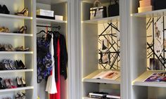 Her Office: Catherine Kwong Design contemporary closet