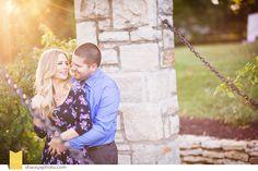 KC Wedding Photographer | KC Photographer | KC Engagement | Downtown KC Engagement | Downtown Engagement Session | Engagement | Kansas City Engagement | Loose Park KC | Sunset Engagement