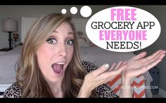 Free app that saves you TONS at the grocery store! From FunCheapOrFree.com