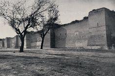 Mura Aureliane. Tratto esterno delle Mura Latine da Porta Metronia a Porta Latina Anno: 1949