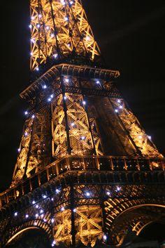 Paris in Gold and Black - Eiffel Tower Tour Eiffel, Paris Travel, France Travel, Time In France, Paris City, Paris Paris, The Catacombs, I Love Paris, Belle Villa