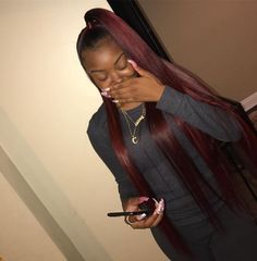 Hair extensions are ending up being a significantly popular way of immediately getting that long gorgeous hair some of us can just dream of! My Hairstyle, Ponytail Hairstyles, Weave Hairstyles, Baddie Hairstyles, Hairstyle Ideas, Short Hairstyles, Hair Ideas, Weave Ponytail, Ponytail Styles
