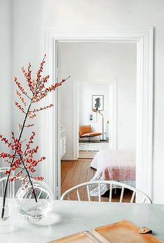 Decorative Branches: A Scandinavian Strategy for Beating the Winter Blues   Apartment Therapy