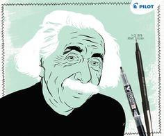 Dnes by oslavil jeden z nejvýznamnějších světových vědců Albert Einstein 137 let! :) Dáte na jeho počest dohromady rovnici teorie relativity? Teorie Relativity, Einstein, Fictional Characters, Art, Art Background, Kunst, Performing Arts, Fantasy Characters, Art Education Resources