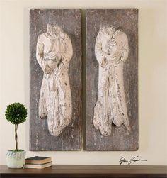 Grace Feyock 13907 Saint Statues Wall Decor UM-13907