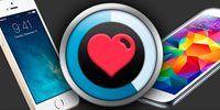 iPhone 5S x Galaxy S5: comparativo dos batimentos cardíacos