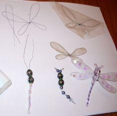 Dragonfly tutorial    I love dragonflies!