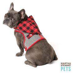 Martha Stewart Pets® Buffalo Checker Vest Dog Harness | Harnesses | PetSmart