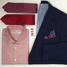 Red, White, & Blue l  Nicholas Joseph Custom Tailors l www.customsuitsyo... l Chicago, IL l USA