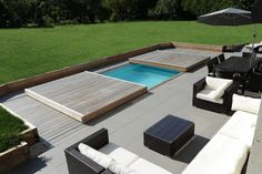 couverture piscine mobile
