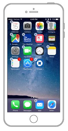 Rearrange the Icons on Your iPhone's Home Screen