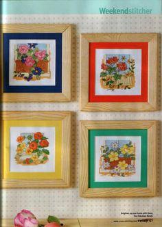 4 Weekender Flower Designs