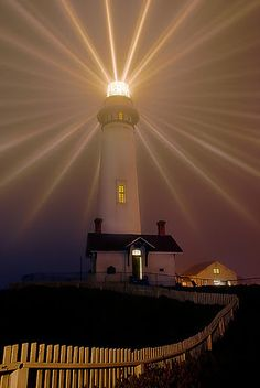 Pigeon Point Lighthouse in Pescadero California-they have a hot tub on the edge of a cliff...