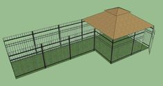 $2,425.00 Watch our Quick Overview Video Here: http://youtu.be/o01GOguVmvU The World's first Luxury Ornamental Dog Kennel System!! This dog kennel Configuration features a Windsor Complete set and Run (5'W x 15'L x 5'H) and left uncovered for a long running area. The configuration features 175ft2 of play space and is offered with 1 - 5'H walk gate and 2 sliding door panels. All optional equipme ...