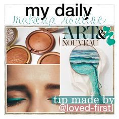 """""""006. my daily makeup routine"""" by loved-first ❤ liked on Polyvore featuring art, country, ambitioustips and idka"""