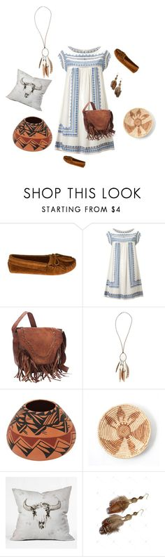 """""""Indian Summer"""" by marlenamorrison ❤ liked on Polyvore featuring Minnetonka, Star Mela, Dorothy Perkins and DENY Designs"""