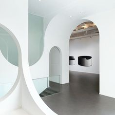 Our 'Hongkun Gallery of Contemporary Art' features a series of arches and counter-arches to form one fluid entrance ribbon that attracts visitors into the space and guides them to the exhibition.   by #penda  I'm @chrisprecht_penda & hijacking this account for a day or 2. I will be speaking at the Stockholm Design Talks on Feb 6th with this years topic 'Visionary Thinking'. Hope to see some of you there!   #stockholmfurniturefair #stockholmdesignweek #stockholmdesigntalks #penda #dailypenda